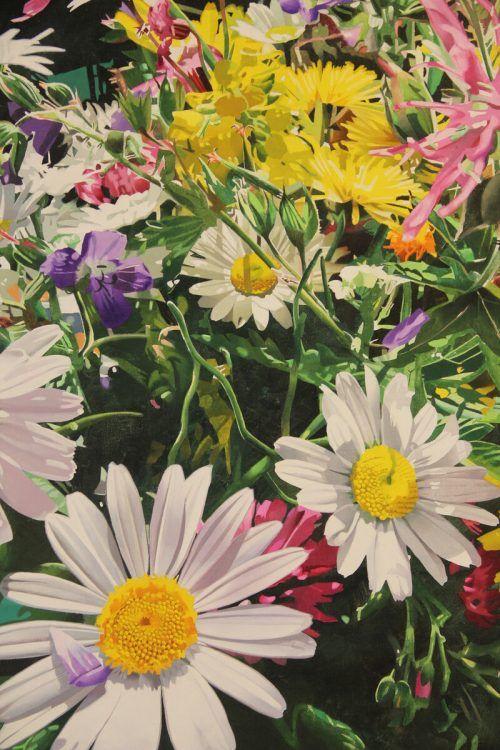 Die malerische Welt des Heinrich Salzmann ist bunt und schön.