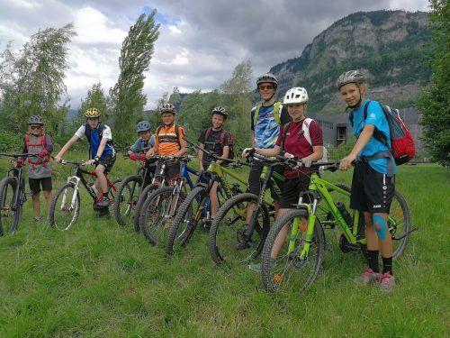Die Radlobby Vorarlberg traf sich jüngst zur Orientierungsfahrt in Dornbirn. Der Nachwuchs des SC Egg war dabei. Radlobby