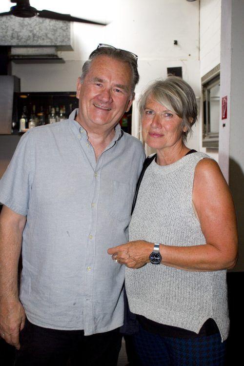 Dieter Preuss und Alma Nussbaumer genossen die Präsentation.