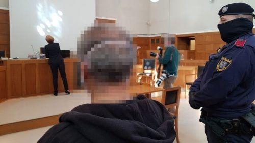 Eine im Schwurgerichtssaal vorgeführte Videoaufzeichnung lieferte aufschlussreiche Details über den Tathergang. Eckert