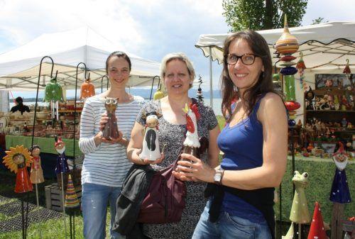 Eine Vielfalt an Kunst, Handwerk, Mode und Design wird am kommenden Wochenende am Lochauer Kaiserstrand geboten. bms
