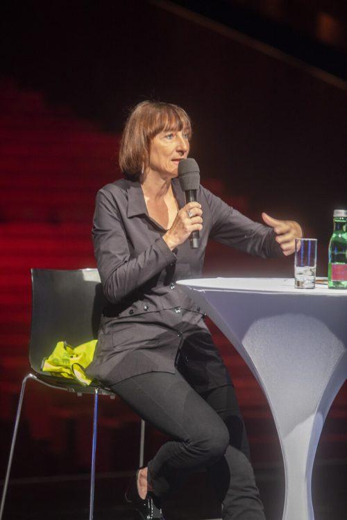 """Elisabeth Sobotka: """"Wir werden die Coronatestungen empfehlen.""""VN/RP"""