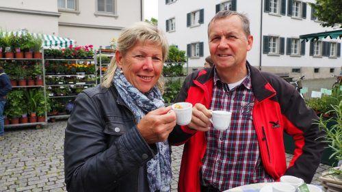Elke und Helmut Weissenbach ließen es sich schmecken.