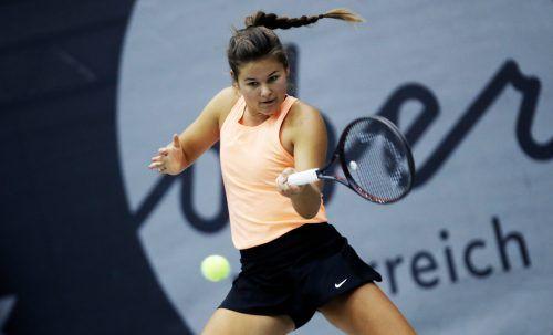 Emily Meyer konnte ihre bisherigen Einzel in der Bundesliga für sich entscheiden.Gepa