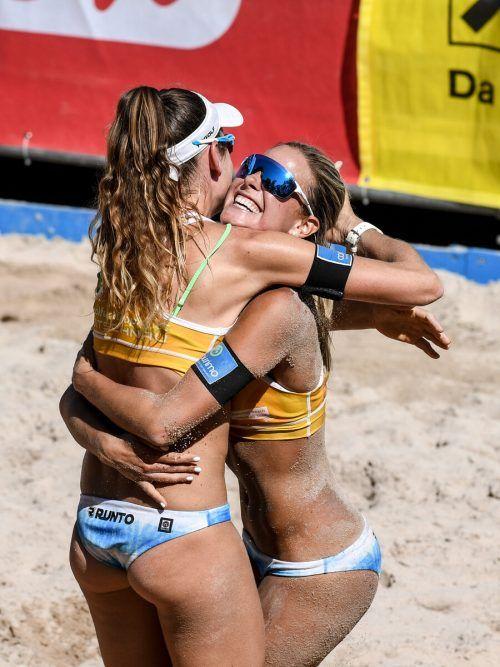 Es wird wieder gebaggert: Am Wochenende starten die Beach-Volleyball-Turniere.Lerch