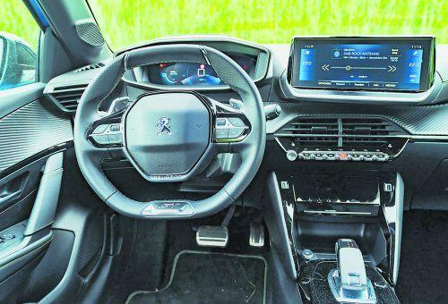 Feiner Kleiner mit Erlebniswert: Keck markiert der neue Peugeot 208 in jeder Hinsicht den optischen Muntermacher. VN/stiplovsek