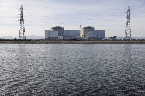 Fessenheim ist das älteste französische Atomkraftwerk. AP