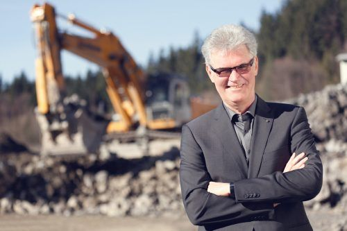 """Branchensprecher Peter Keckeis: """"Derzeit werden über 200 Lehrlinge in der heimischen Bauwirtschaft ausgebildet."""" wkv"""