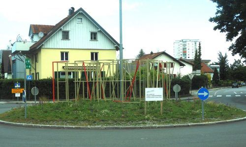 Für die Gestaltung des Kreisverkehrs Strabonstraße hat die Stadtgärtnerei Bregenz ein besonderes Pflanzkonzept erarbeitet. fst