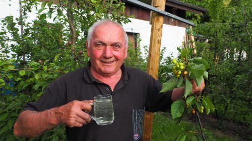 Für Toni Schiefer, Moster des Jahres, ist die Qualität des Obstes entscheidend für das Endprodukt.Christof EGle