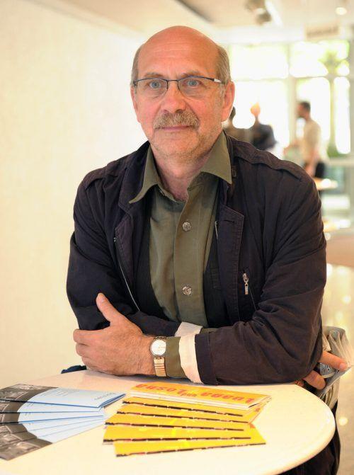 Gerhard Ruiss ist in Vorarlberg als Literaturvermittler aufgetreten. Stiplovsek
