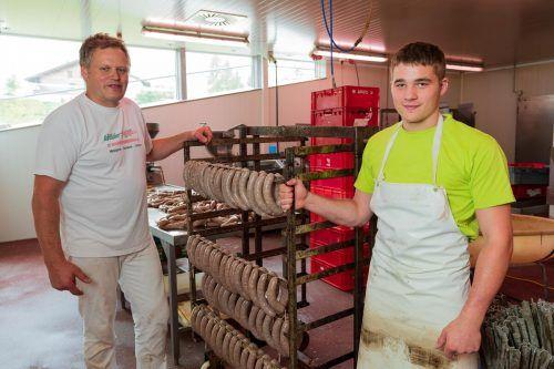 Handwerker wie die Wälder Metzg stehen für Vorarlbergs erfolgreiche KMU. VN/DS