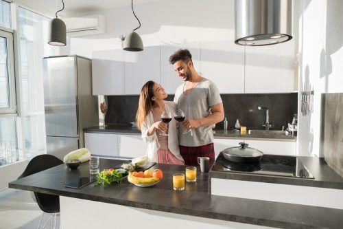 Hochwertige Arbeitsplatten spielen in der Küche eine große Rolle.Shutterstock
