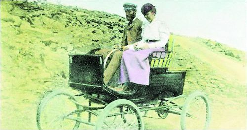 Im Jahre 1900 wurden in den USA 4000 Autos gebaut, 40 Prozent davon mit Dampf.NYT
