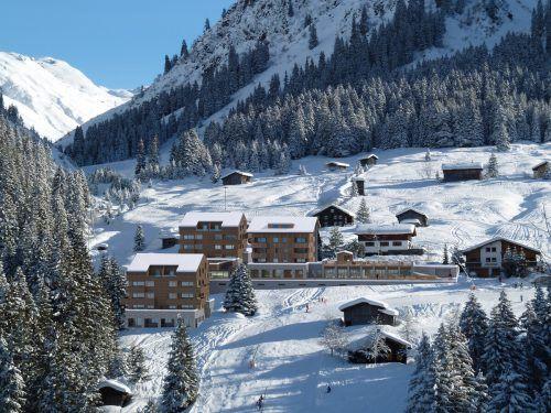 Im Ortsteil Vergalden entsteht statt des Silvretta Alpen Resorts nun das Alpin Resort Montafon. Schmid&Romagna