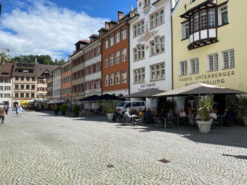 In der Stadt Feldkirch gibt es unterschiedliche Auffassungen zur Ausrichtung der Innenstadt.VN/GMS