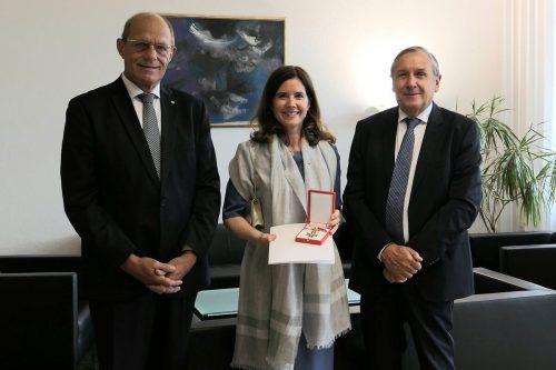 Isabelle Amann, die 2007 zur Richterin ernannt wurde, hat eine hohe Auszeichnung erhalten. justiz