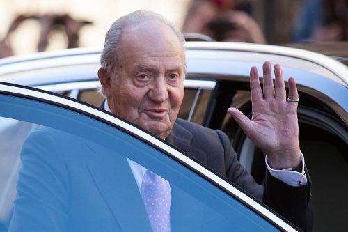 Juan Carlos soll 100 Millionen US-Dollar aus Saudi-Arabien kassiert haben. AFP
