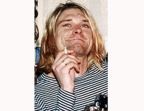 """Kurt Cobain spielte auf der Gitarre bei seinem """"MTV Unplugged""""-Auftritt. Ap"""