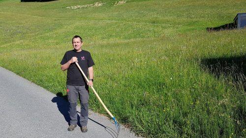 Kurt Stark ist ein schonender Umgang mit Boden und Tieren wichtig. bi