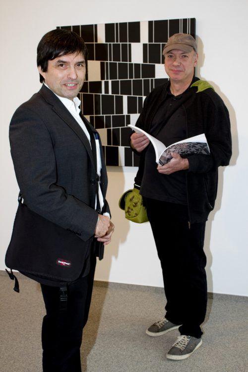 Laszlo Otto (l.) und Martin Vosswinkel.