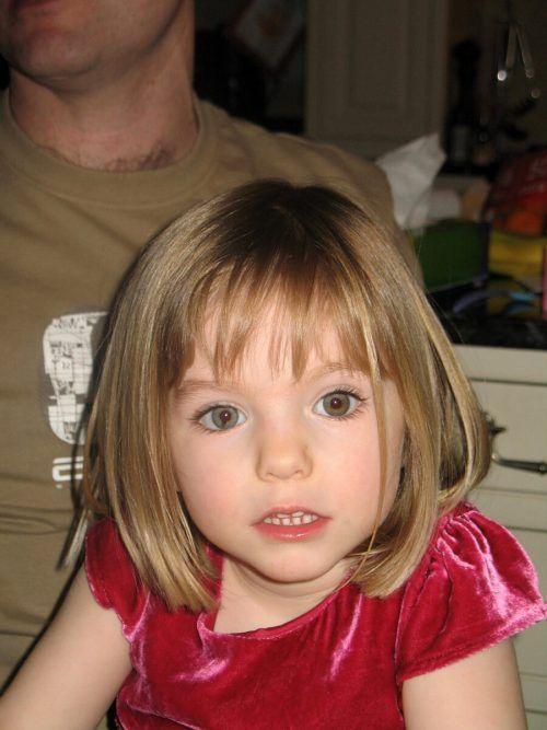 Die damals dreijährige Madeleine McCann.