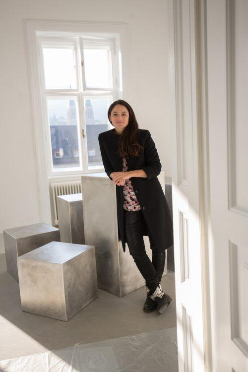 Maria Simma ist seit rund zwei Jahren Präsidentin der Berufsvereinigung Bildender Künstlerinnen und Künstler Vorarlbergs.VN/Hartinger
