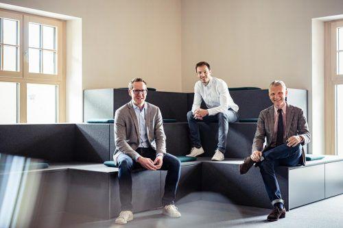 Martin Dechant, Peter Flatscher und Bernd Hepberger. M.Mayer