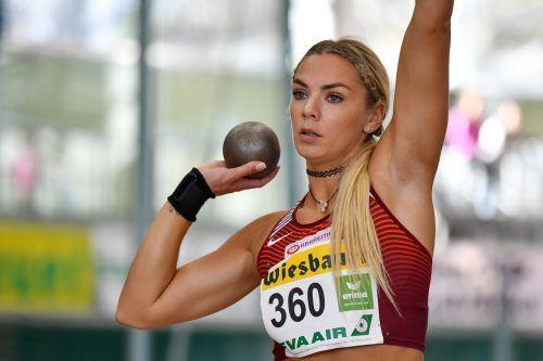 Mehrkämpferin Ivona Dadic wird in Eisenstadt an den Start gehen.Gepa