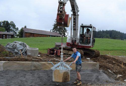In Lingenau haben die Arbeiten bereits vor einigen Wochen begonnen. ME