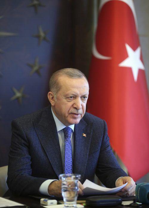 Mit dem Eingreifen Erdogans wendete sich das Blatt. AP