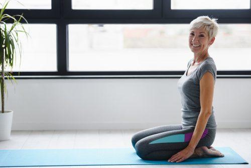 Mit gezielten Übungen kann man Inkontinenz wieder in den Griff bekommen.Adobe