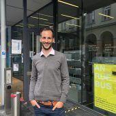 "<p class=""caption"">Mobilitäts- und Abfallwirtschaftsmanager Johannes Zambanini.VN/LIW</p>"
