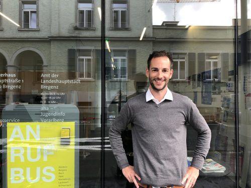 Mobilitäts- und Abfallwirtschaftsmanager Johannes Zambanini.VN/LIW