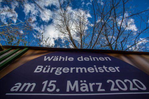 Nach der Absage im März ist es nun am 2. September-Sonntag mit der Vorarlberger Kommunalwahl soweit. VN/Steurer