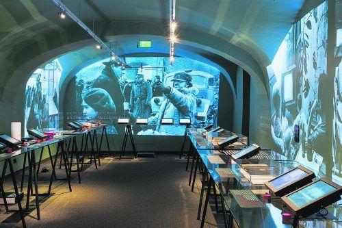 """Noch bis 16. August 2020 ist die aktuelle Ausstellung """"Ende der Zeitzeugenschaft?"""" zu sehen.dietmar walser"""
