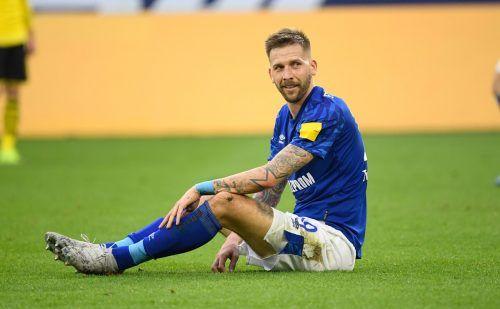 Noch bis 2022 läuft der Vertrag von Guido Burgstaller bei Schalke 04.afp