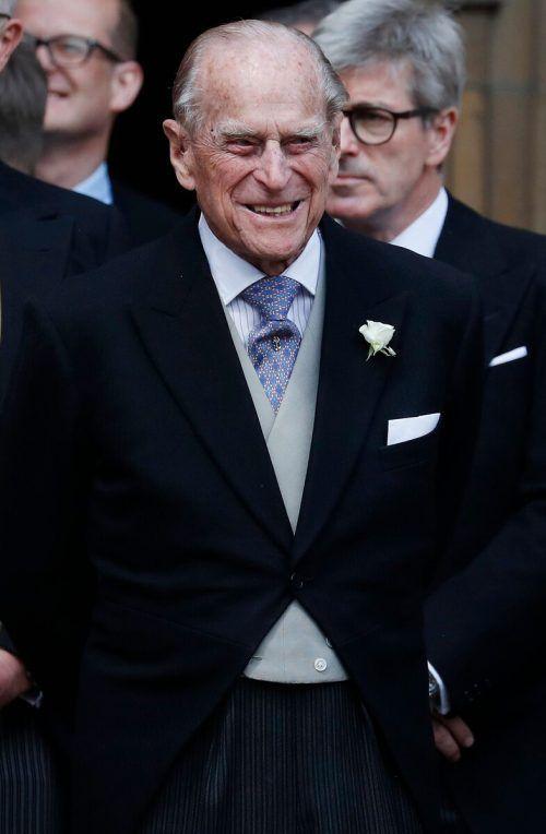Prinz Philips Umfeld beteuert, dass es dem Ehemann von Queen Elizabeth II. nicht schlecht geht. AFP