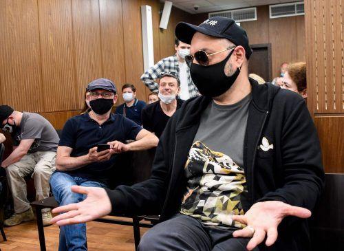 Serebrennikow wurde zu einer Bewährungsstrafe verurteilt. AFP