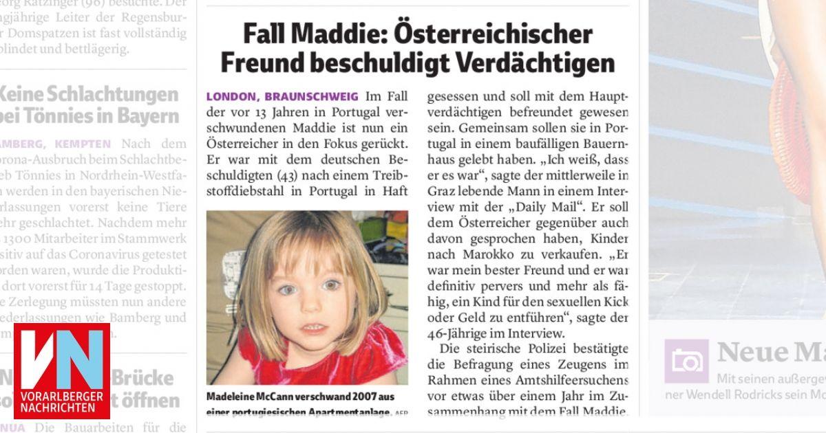 Fall Maddie Aktuell