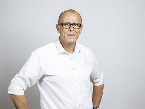 Walter Gohm (53) für die Frastanzer Volkspartei.