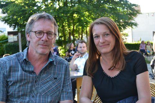 Wilfried Breuss und Renate Konzett waren von dem Event begeistert.
