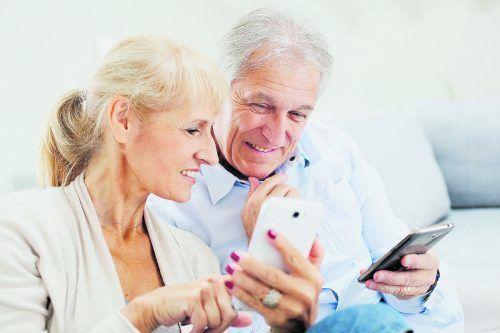 Willkommen in der Welt der Smartphones: Am 23. und 26. Juni wird eine zweiteilige Schulung für Einsteiger angeboten.shutterstock