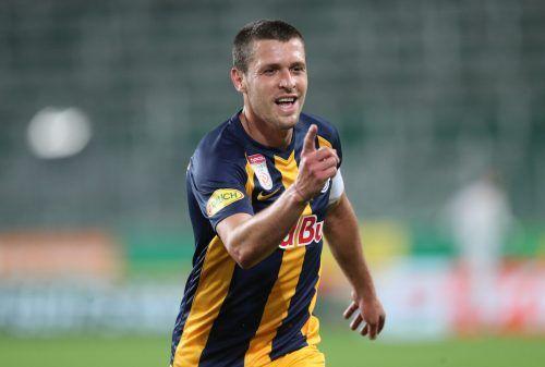 Zlatko Junuzovic erzielte gegen Rapid Wien wohl das Tor des Jahres.gepa