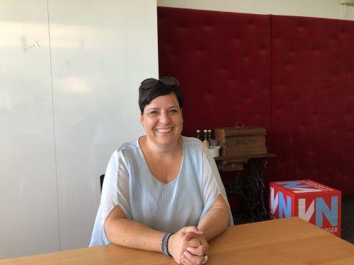 Alexandra Loser ist seit diesem Sommer die neue Chefin der Pflichtschullehrergewerkschaft. VN/Hämmerle