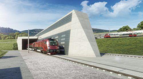 """Als ARGE """"FF Koralm"""" werden die Porr Bau GmbH und die Rhomberg Bahntechnik GmbH für die ÖBB ab Mai 2021 den Koralmtunnel ausrüsten. ÖBB"""