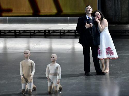 """Als erste von zwei Opern-Neuinszenierungen steht am Eröffnungsabend Richard Strauss' """"Elektra"""" auf dem Programm. apa"""