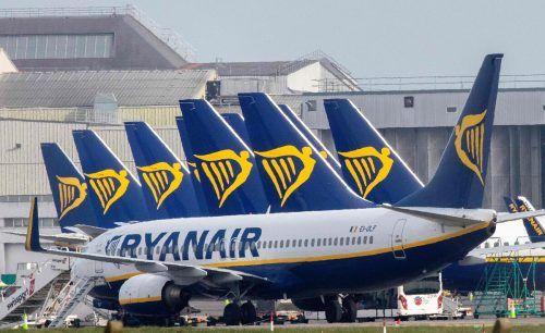Auch Ryanair muss ob Corona Federn lassen. Aber weniger als die Konkurrenz. AFP