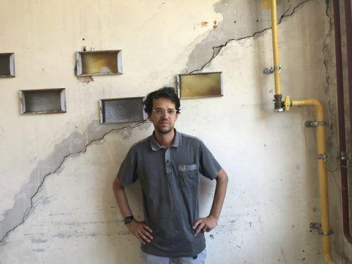 David Ölz zeigt eine vielschichtige Ausstellung. Ölz, Bildrecht, 2020
