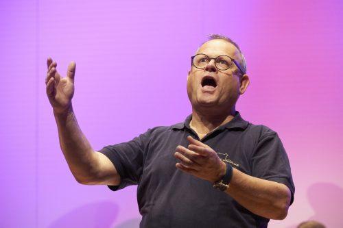 Der Koblacher Oscar Egle dirigiert bis heute selbst mit Erfolg vier verschiedene Chöre. Wolfgang Plattner